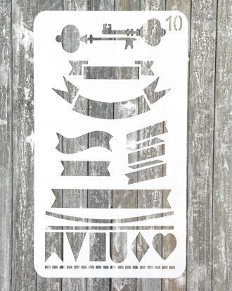 bullet journal stencil